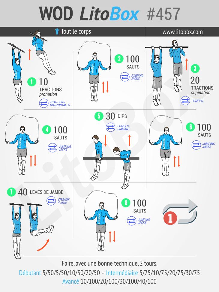 Programme de corde à sauter (PDF à télécharger) | Workouts ...
