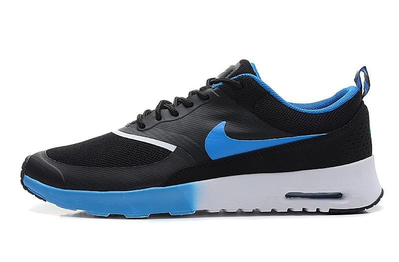 timeless design e040f 1b175 UK Nike Air Max Thea Men s Trainers Black Blue White Buy OriginalmKLHC 1