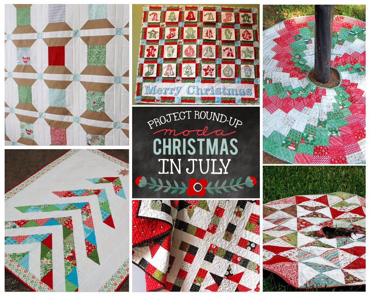 Christmas in July Round Up #holidaysinjuly