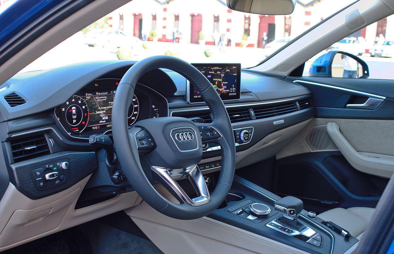 2015 Audi A4 B9 2 0 Tfsi Quattro 185 Kw S Line Interieur Innenraum Cockpit Audi A4 Wikipedia Audi Audi A4