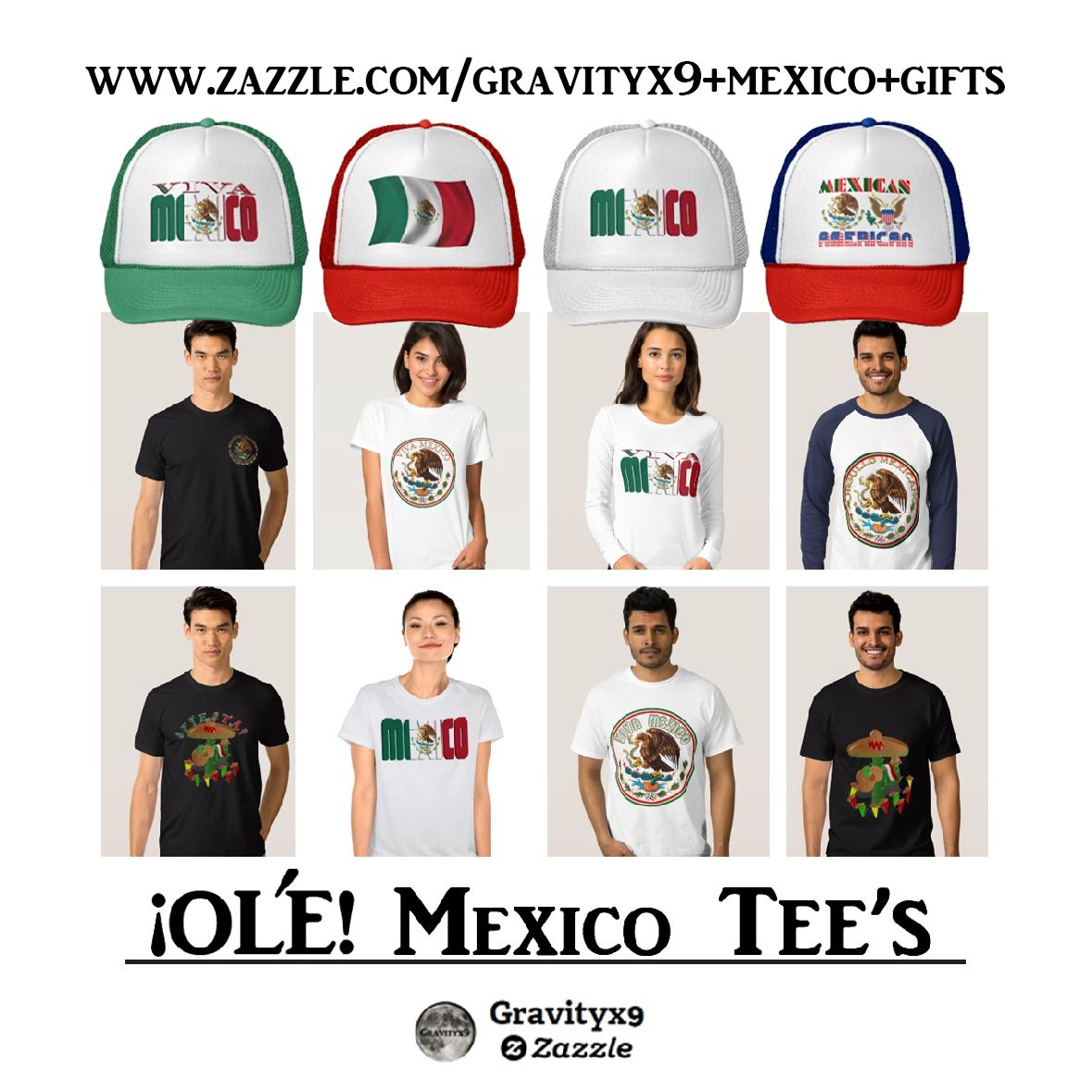 Ole Fiesta Time Mexican Independence Day Tee Shirts And Hats At
