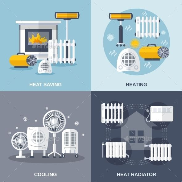 Heating And Cooling Flat With Images Heating Services Heating