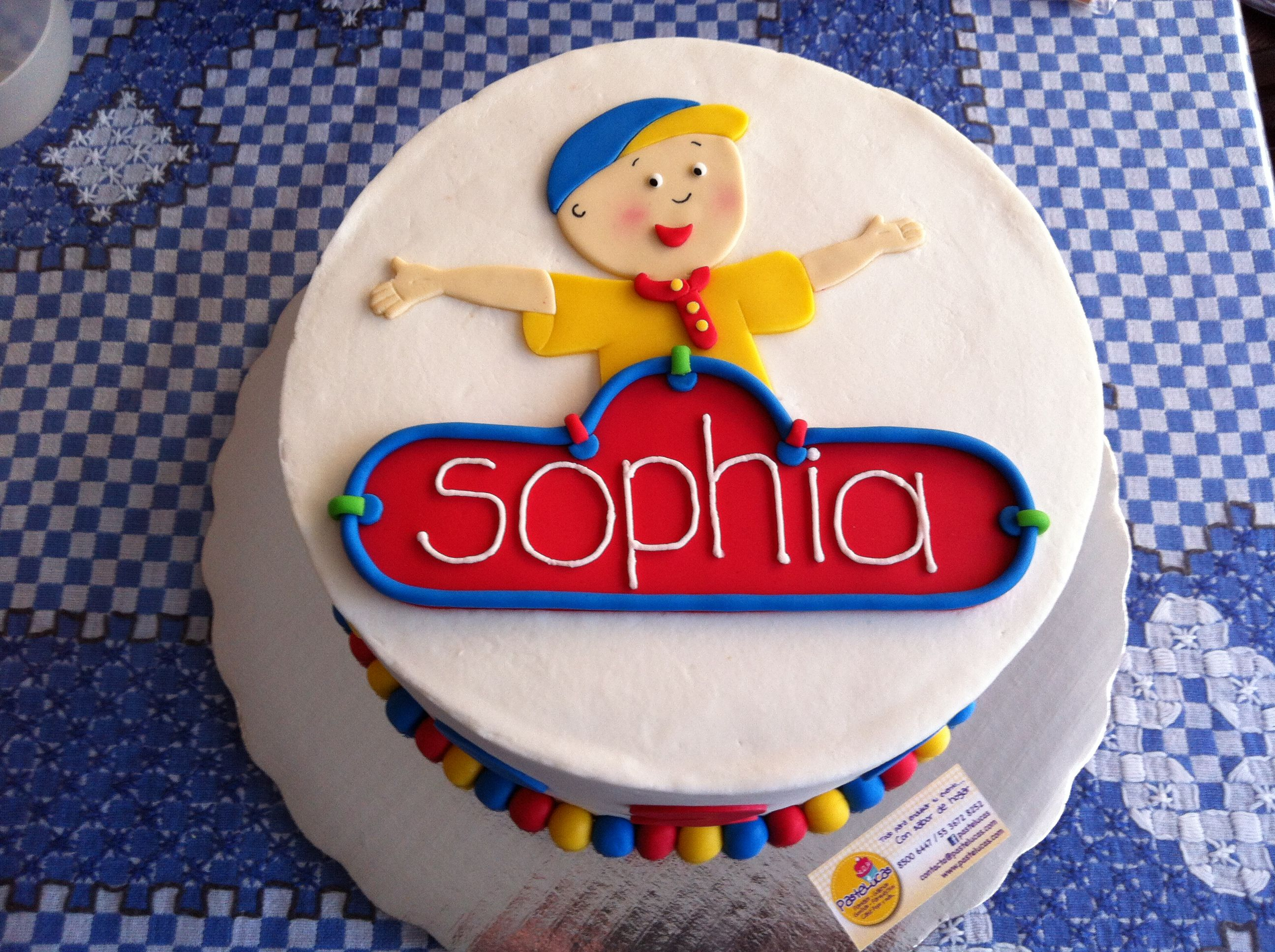Caillous cake Birthday party ideas Pinterest Cake Caillou