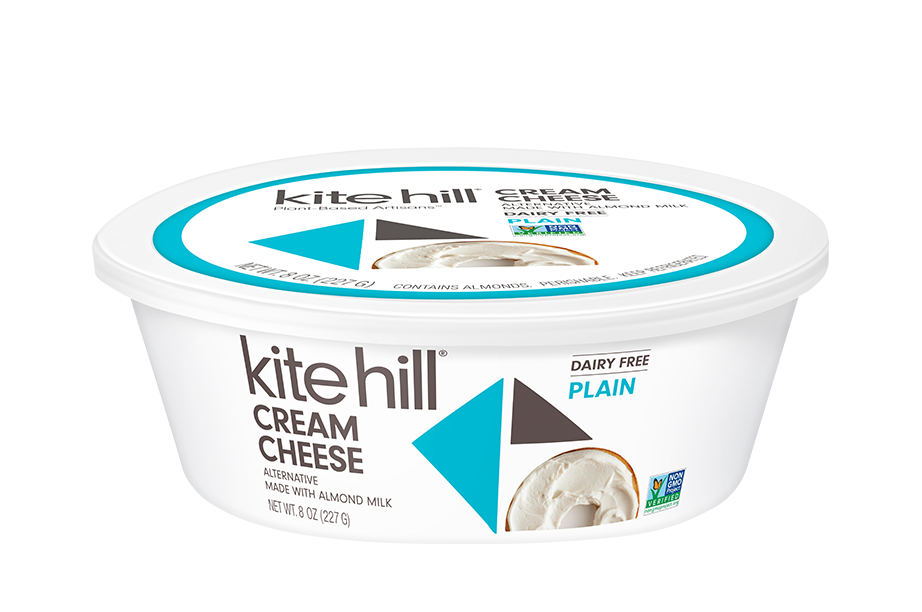 Kite Hill Oatmeal Cookies With Cream Cheese Frosting In 2020 Cream Cheese Cookies Cheese Alternatives Dairy Free Cream Cheese