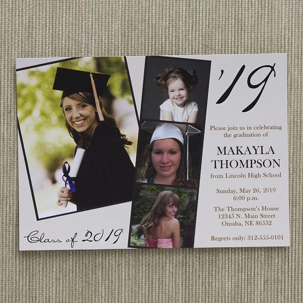 Modern Graduation Invitations