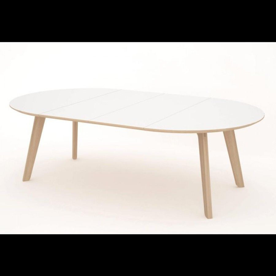 Huge 1400 X 2400mm Extending Oval Boardroom/dining Table