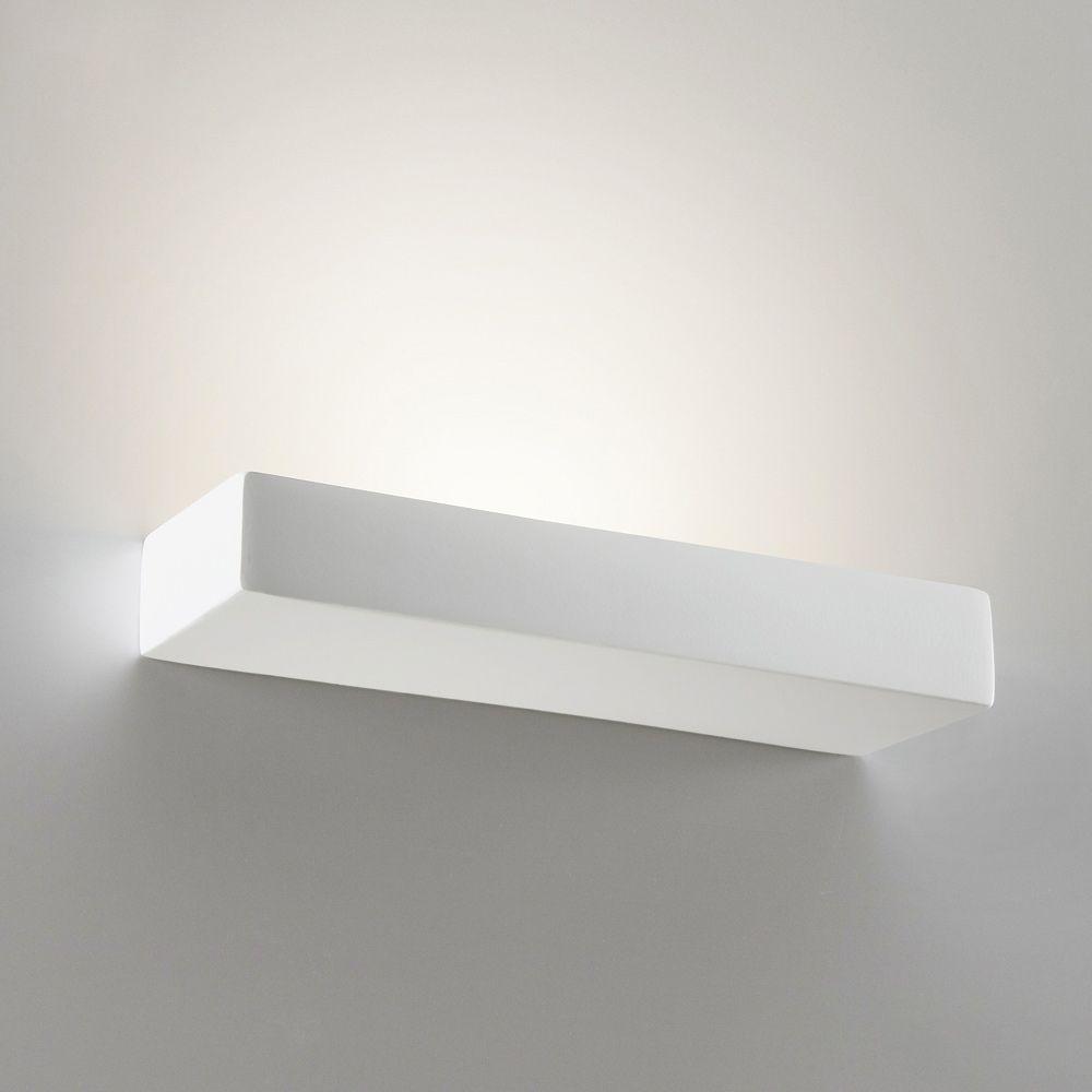 Rechteckige Wandleuchte Aus Keramik In Drei Langen Schlicht Weisse Wandleuchte Mit Austauschbaren Leuchtmitteln Lieferbar Mit 22 34 Un Wandleuchte Led Licht