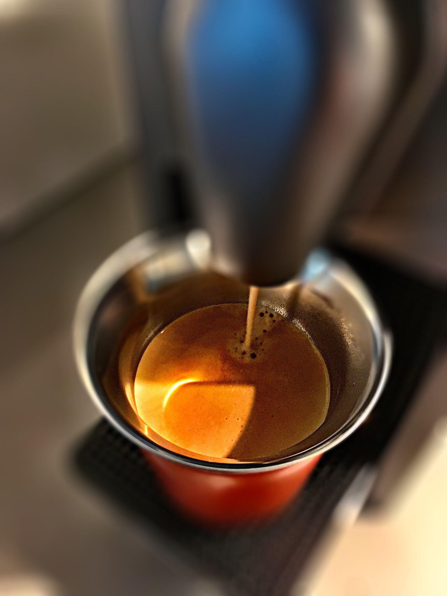 Guten Morgen…den ersten Ferientag beginnen wir mit einem #Arpeggio #Kaffe von @Nespresso