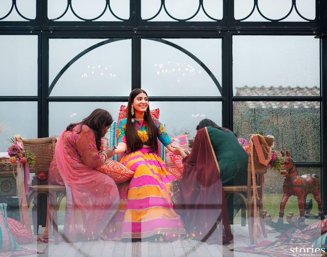 Image may contain: 1 person | Deepika padukone lehenga ...
