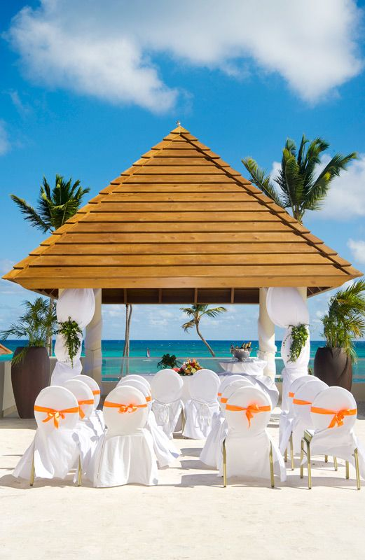 Share This Magical Scene With Family And Friends When You Celebrate Your Love By The Sea At Secrets Royal Beach Punta Cana