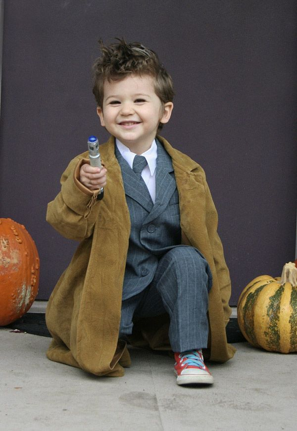 doctor who costume annual modern kiddo we love homemade costumes parade - Kids Doctor Halloween Costume