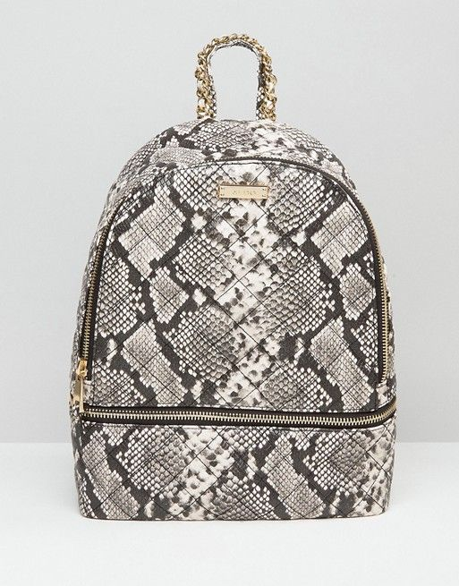 744806aa58 ALDO Faux Snake Backpack With Zip Around Pocket | Bags | Backpacks, Fashion  backpack, Latest fashion clothes