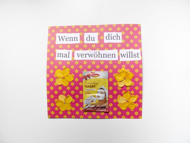 Wenn Buch- eine schöne DIY Geschenkidee für die beste Freundin #geschenkideenbestefreundin