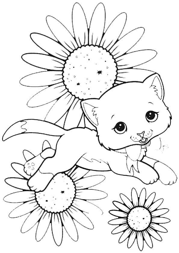 Ausmalbild Malvorlagen Ausmalbilder Kittens Dogs Und Cats