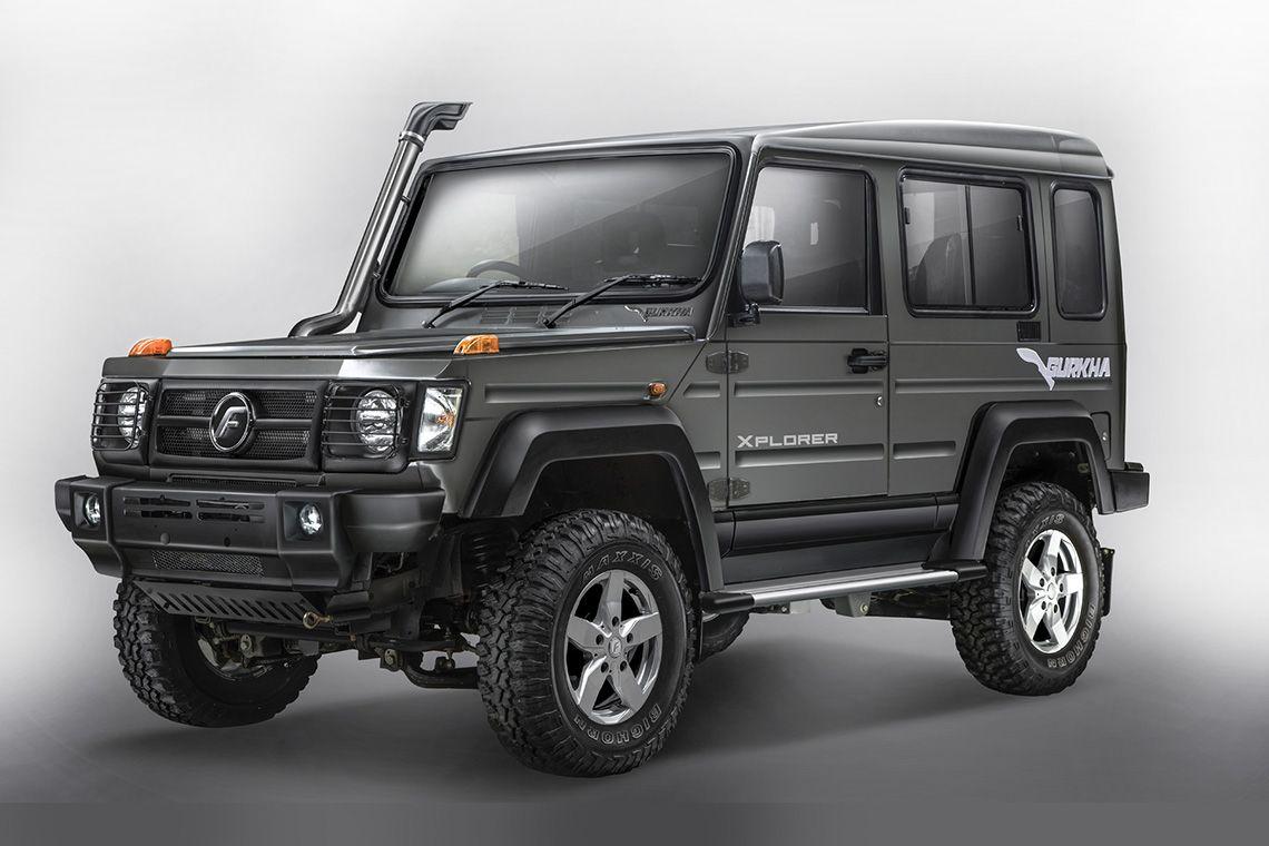 Price List Force Gurkha New Suv Car Brands Upcoming Cars