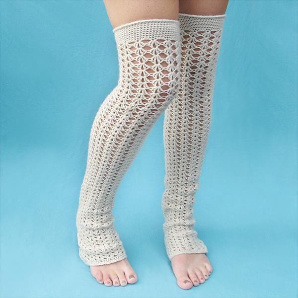 Crochet Leg Warmers — Crafthubs | crochet | Pinterest | Crochet leg ...