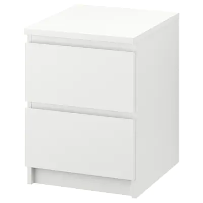 Bedside Tables Nightstands Ikea With Images Malm Bed Frame