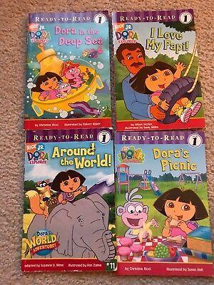 Details about Vintage Nick Jr Dora Explorer books lot Of 4 ...