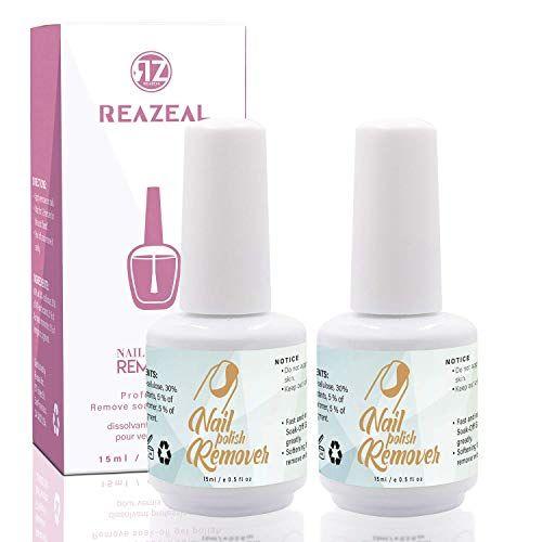 Reazeal 2pcs Magic Nail Polish Remover, Removes Soak-Off Gel Nail Polish Best Offer – LuxClout.com