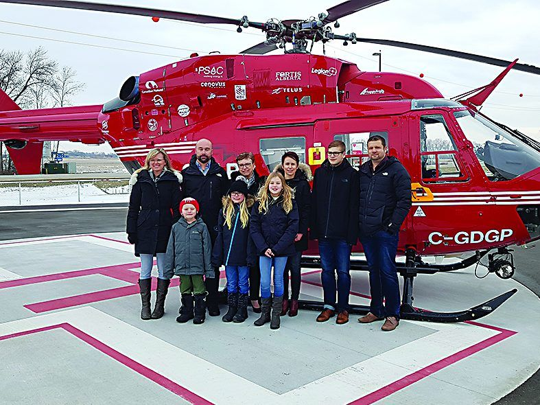 Boundary Trails Health Centre unveils new heliport