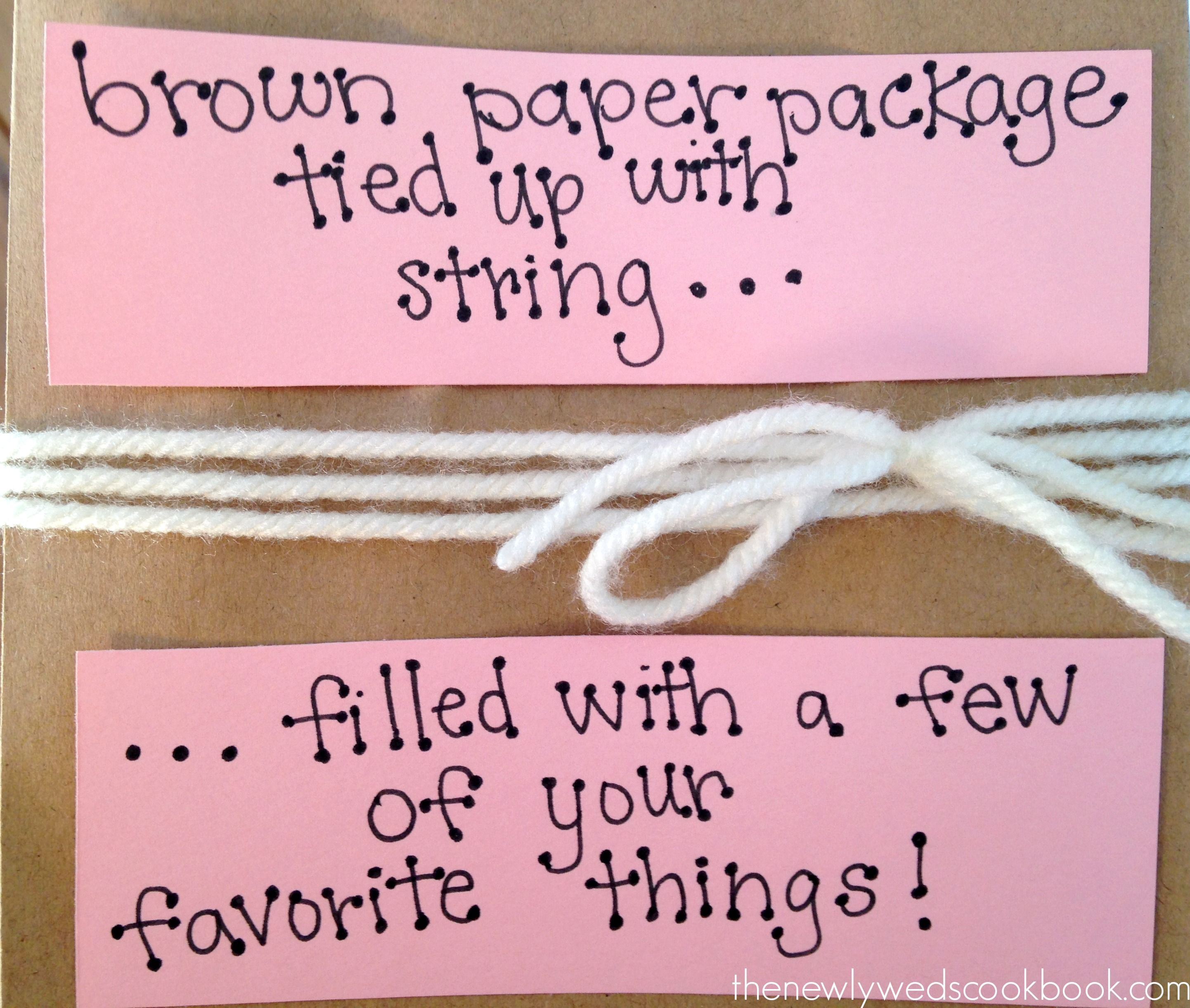 Homemade Valentines Day Gift Bag Idea for Him - The Newlyweds ...