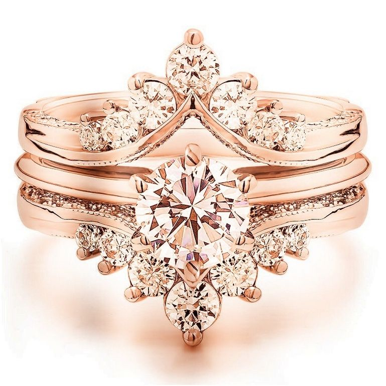 222 Luxury Rose Gold Engagement Ring Vintage For Your Perfect Wedding Rose Gold Engagement Ring Vintage Wedding Rings Vintage Vintage Engagement Rings