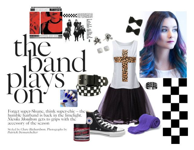 SKA SKIRT GIRLS! by megalexan on Polyvore featuring Victoria's Secret, Waterford, King Baby Studio and Vince Camuto