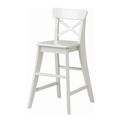 Ingolf Kinderstoel Wit Ikea Moderne Eetkamerstoelen Stoel Ikea