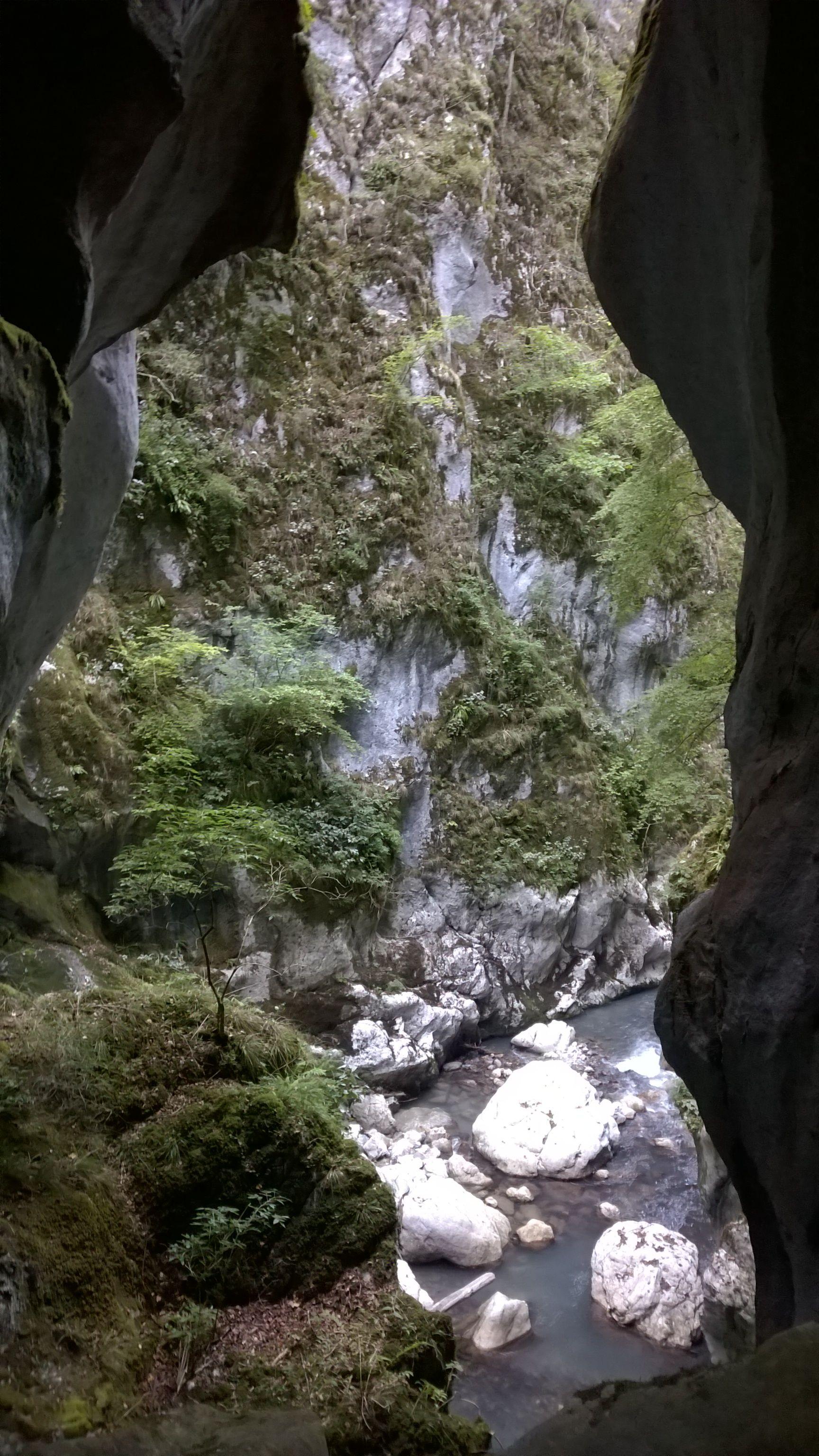Les gorges du Pont du Diable, Haute-Savoie, France
