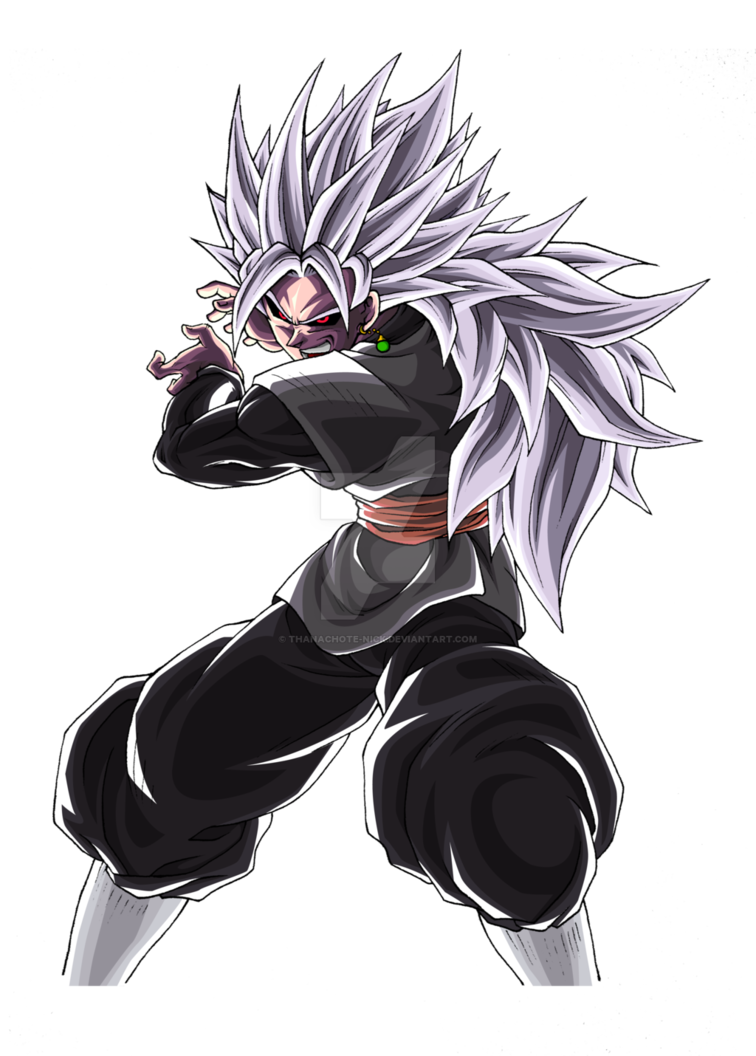 Goku Black Ussg Dbxv2 Color 4 By Thanachote Nick Anime Dragon Ball Super Dragon Ball Super Manga Goku Black