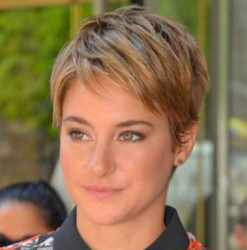 15 of Shailene Woodley's Most Gorgeous Short Hairstyles #shortpixie