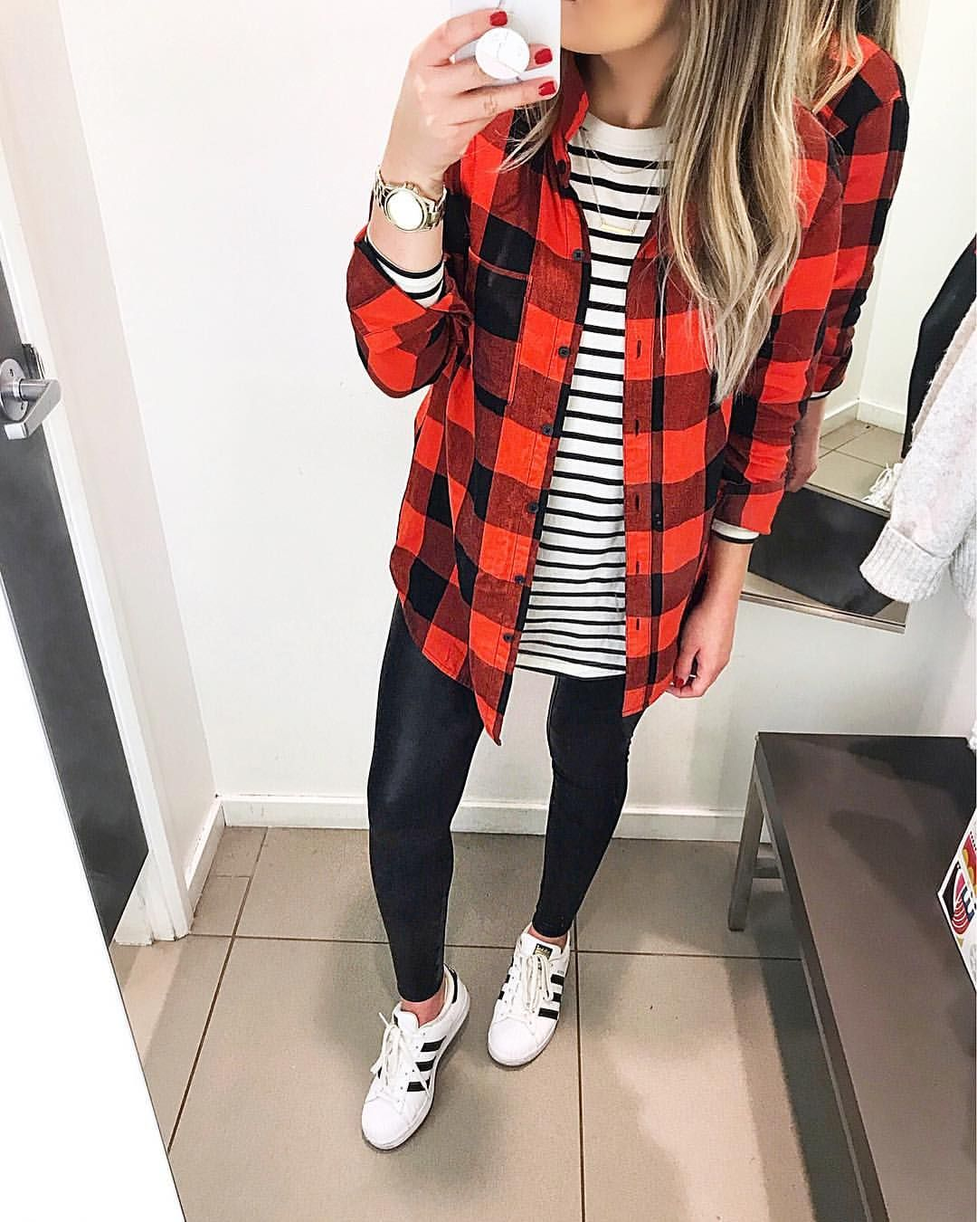 Flannel outfits with leggings  Pin by Megan Willis on dressy outfits  Pinterest  Faux leather