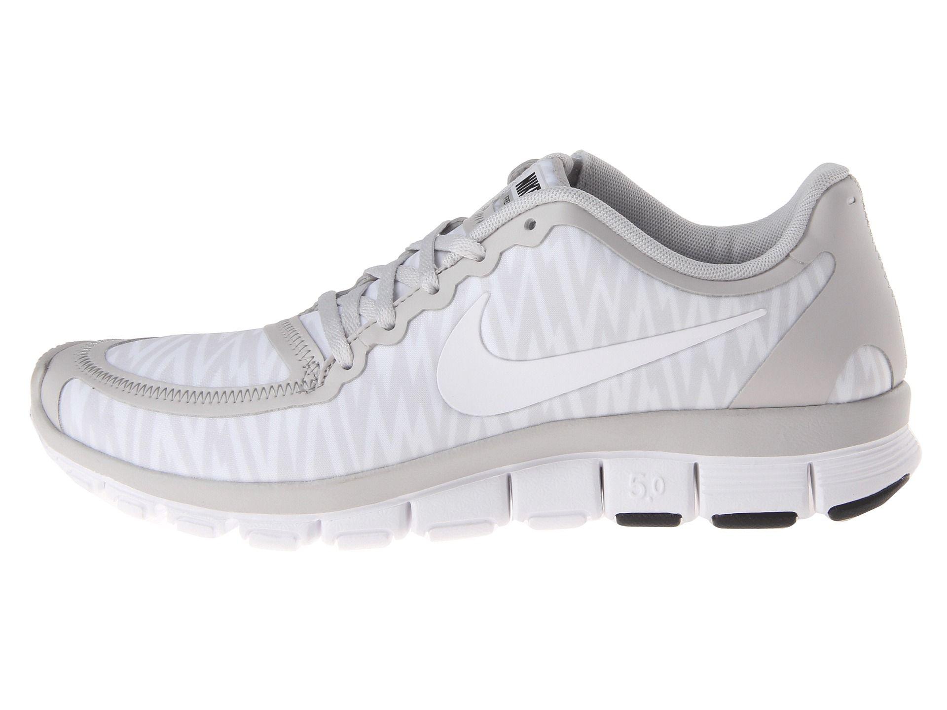 Womens Shoes Nike Free 5.0 V4 Neutral Grey/White/Anthracite/White