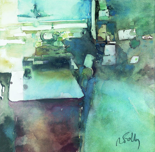 Aquarelle Reims Evenement Galeries Des Artistes Marc Folly