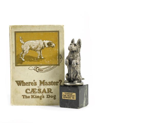 Where S Master Caesar The King S Dog Story Book And Statue Of