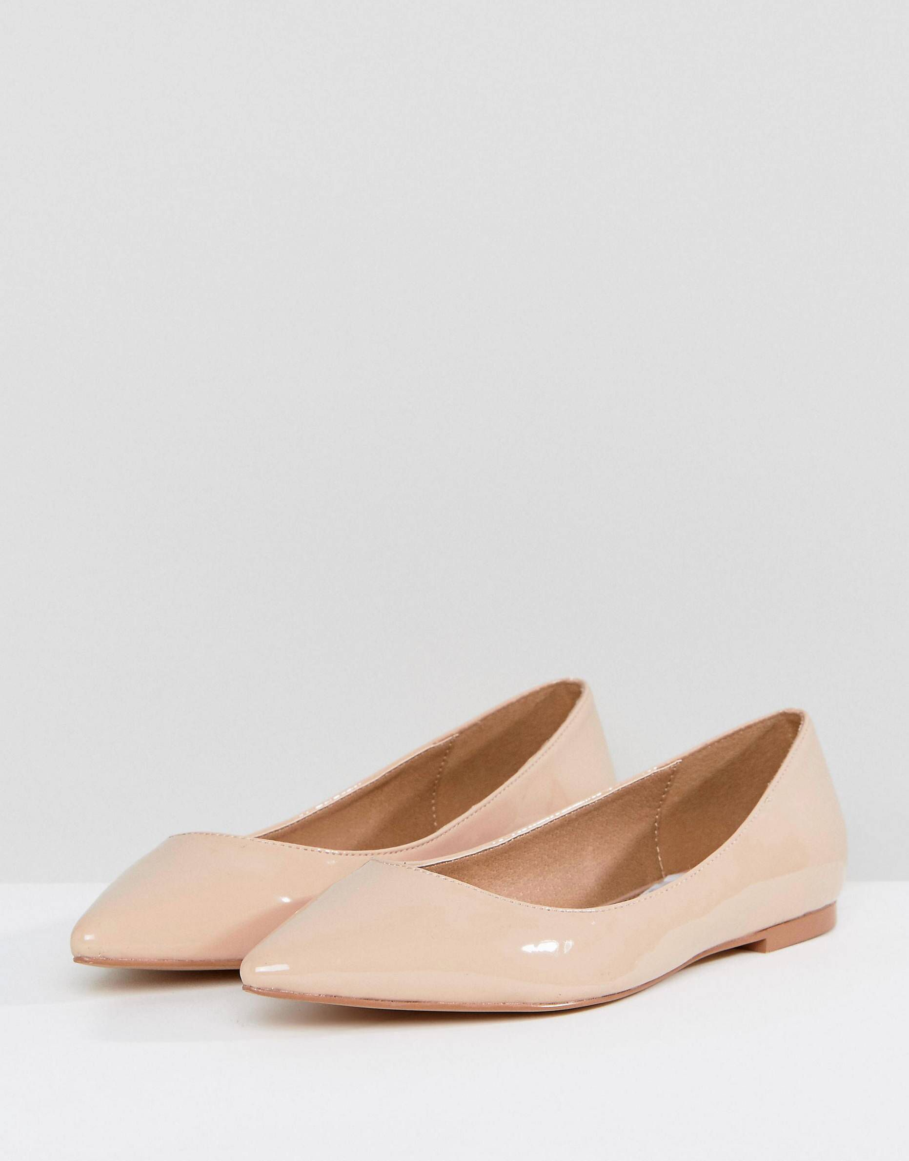 8a75a4accf LATCH Pointed Ballet Flats in 2019 | Fall / Winter 2 0 1 7 | Pointed ...