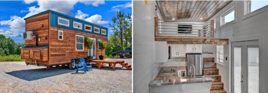 This Custom Tiny Home Features A Surprisingly Spacious Interior Tiny House Spacious Tiny House Living