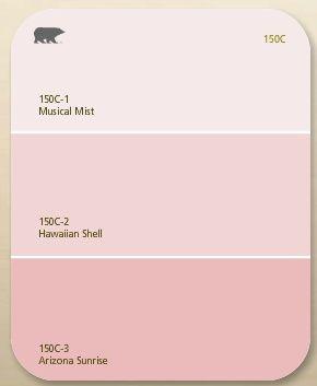 Color Scheme Pink Paint Colors Light Pink Paint Shabby Chic Colors