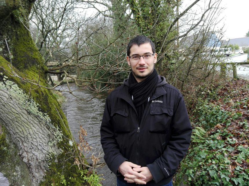 François Jossec de la fédération de pêche du Morbihan - Radio France