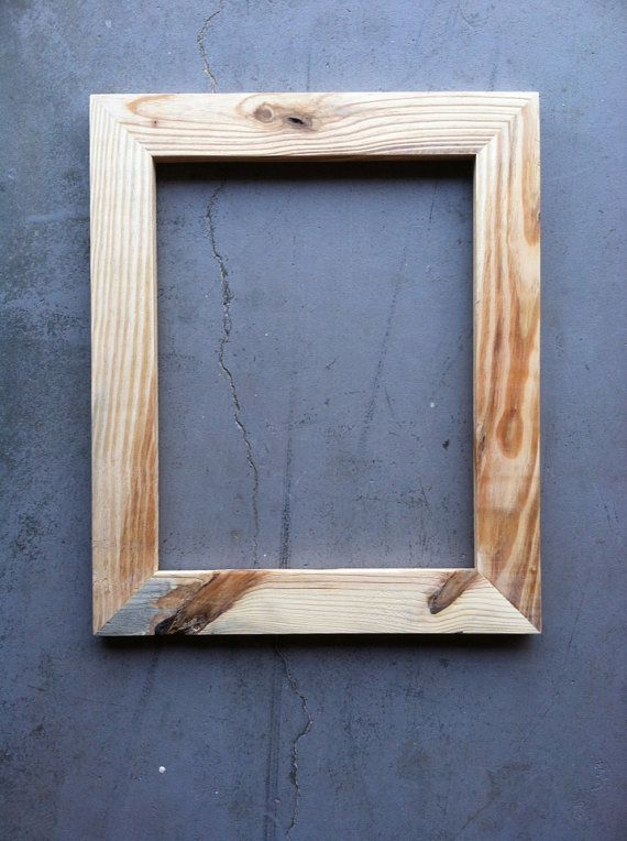11x14 Pine Wood Picture Frame By Jonesframing On Etsy Dengan Gambar
