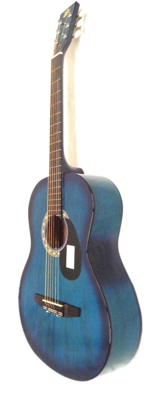 Guitar Rogue 7 8 Scale Starter Acoustic Blue Burst Please Retweet