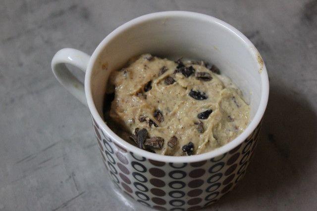Cookie Dough Mug Muffin (coconut flour)