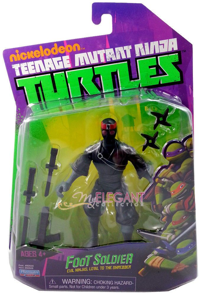 TEENAGE MUTANT NINJA TURTLES FOOT SOLDIER EVIL NINJAS NEW FREE SHIP