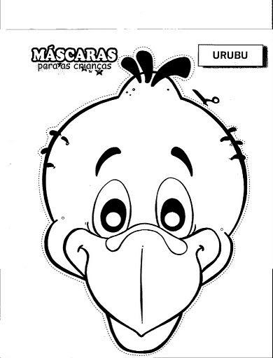 Alfabetos Lindos Mascaras Mascaras De Animais Festa No Ceu