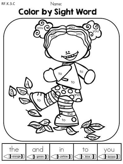math worksheet : autumn kindergarten no prep language arts worksheets  language  : Language Arts Worksheets For Kindergarten