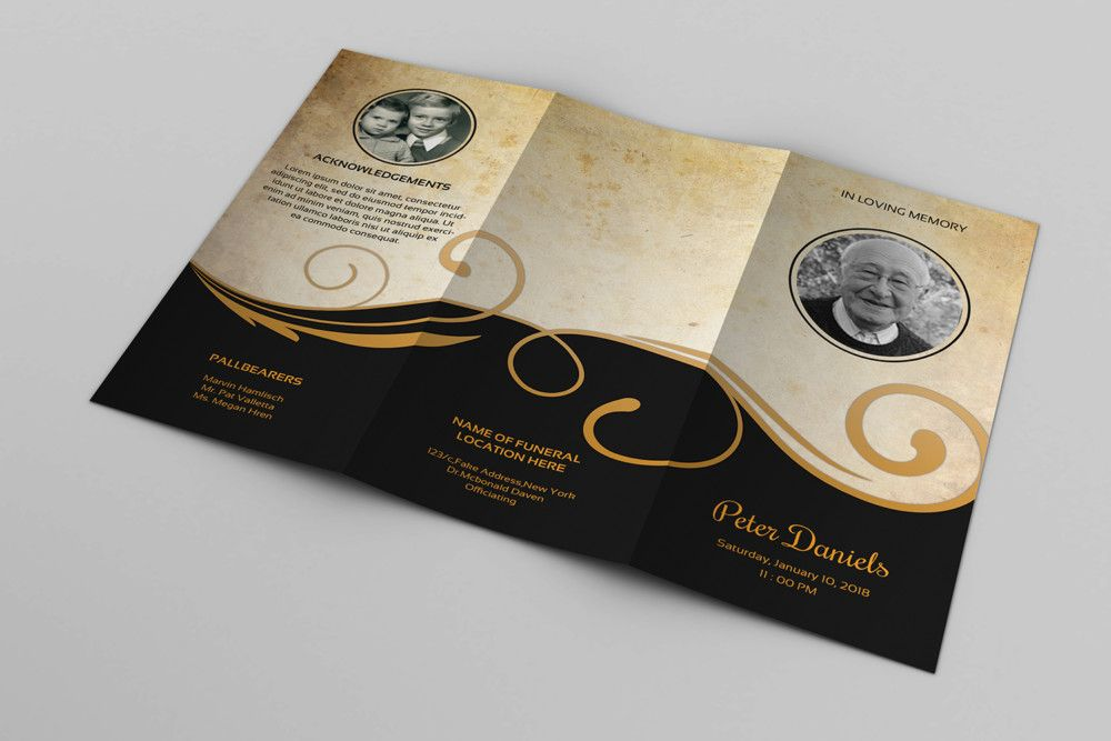 Tri Fold Brochure Template Word Doc Format  Brochure Template