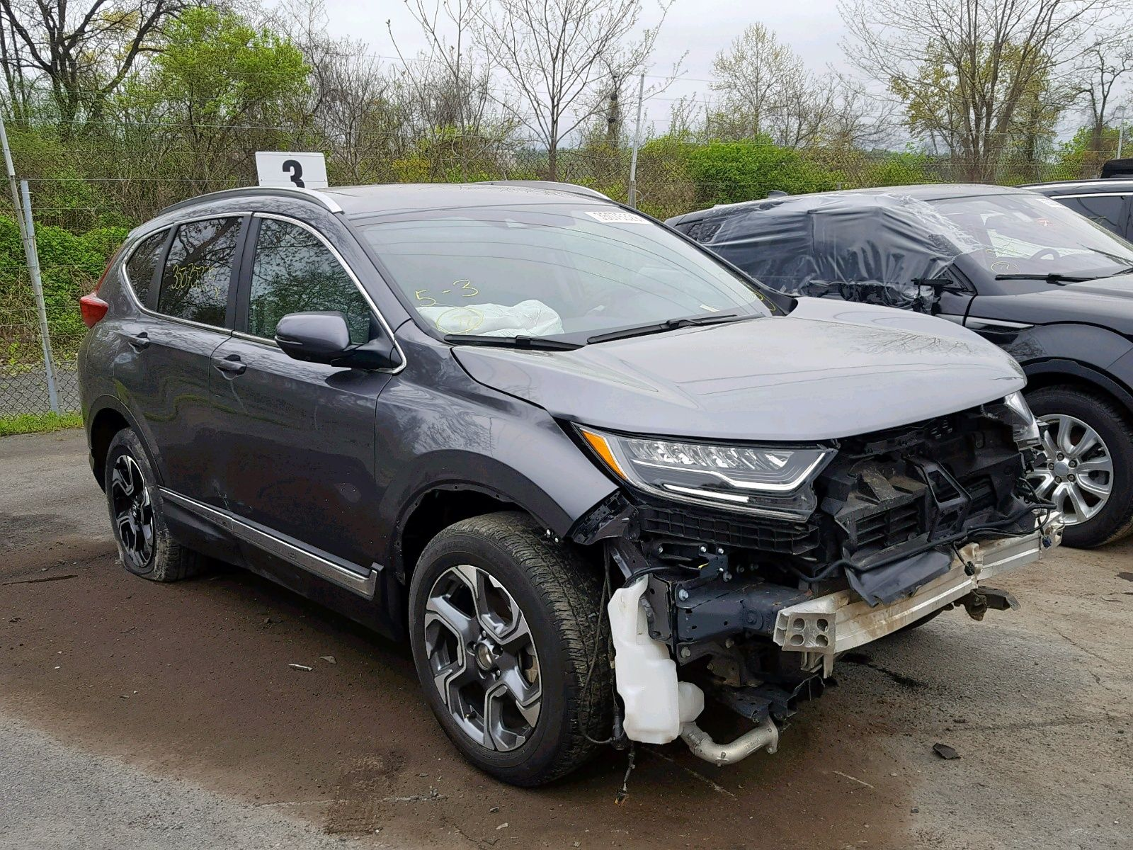 Salvage 2017 HONDA CRV for Sale in New Jersey
