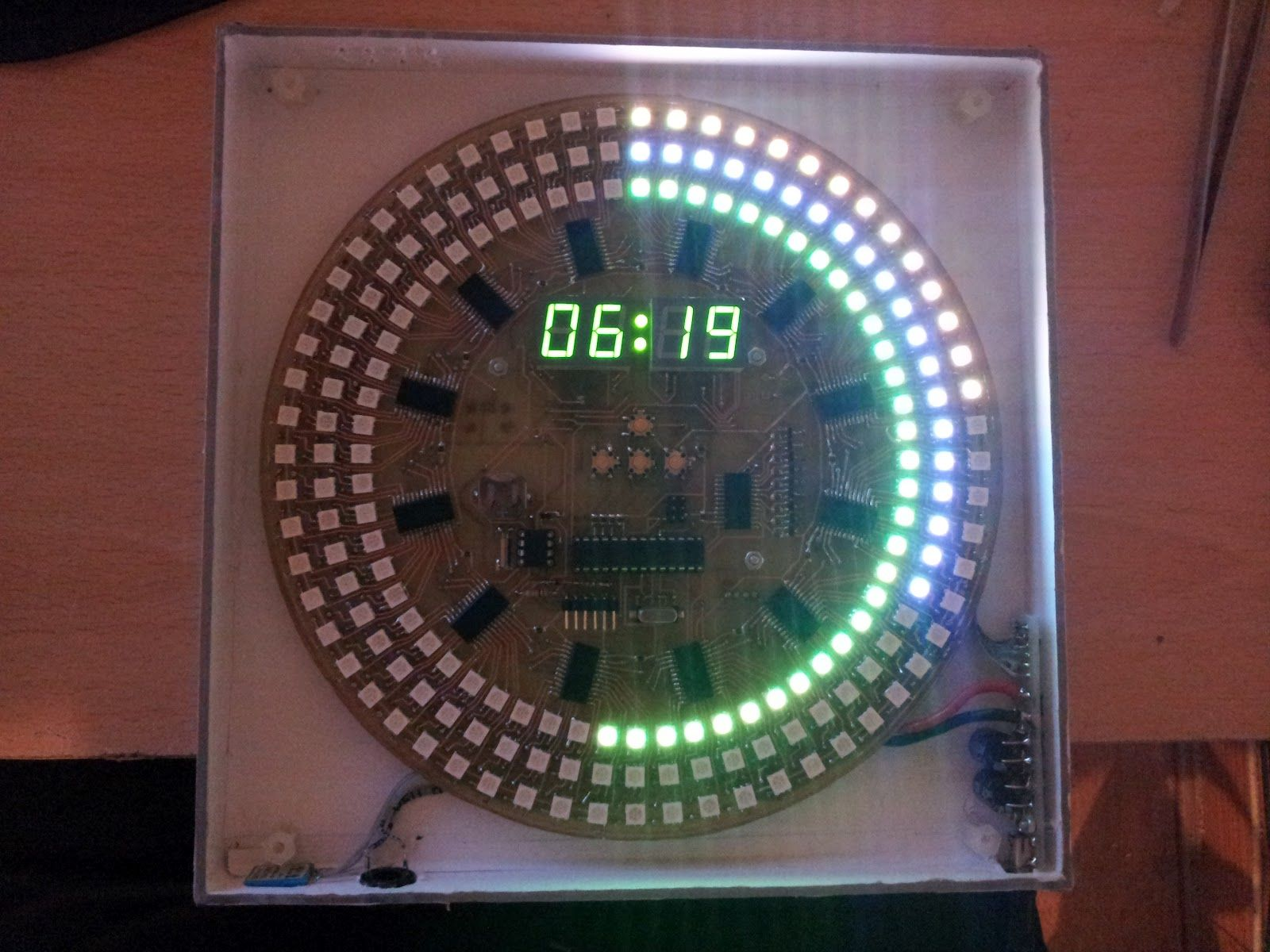 Electronic Projects Arduino Led Clock Scheduled Via Trafficwonker List Of Best Online Circuit Simulator Gadgetronicx Trafficwonkercom