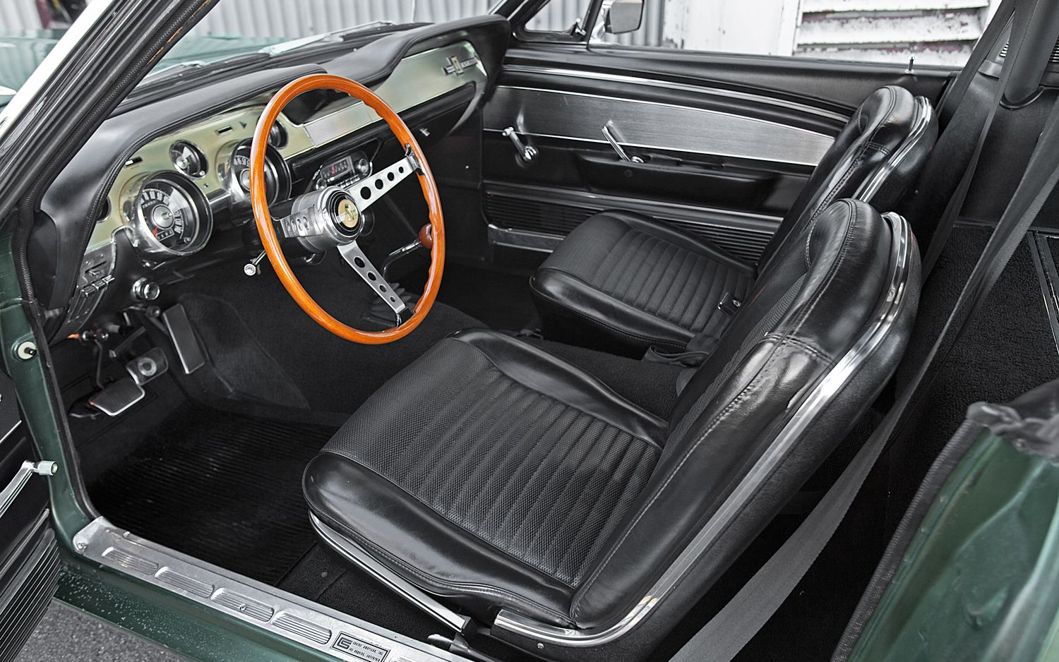 How to identify a 1967 ford mustang shelby gt 500