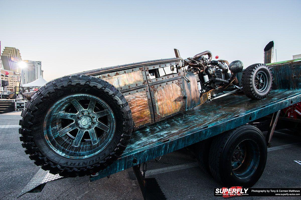 Welderup Sema Show 2015 Take Over Rat Rods Truck Rat Rod Trucks